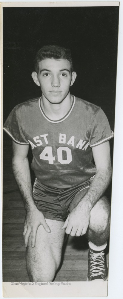 "[""Chrest was a teammate of Jerry West during his high school basketball career.The 1956 team secured the first ever state championship title for East Bank High School's basketball team. ""]"