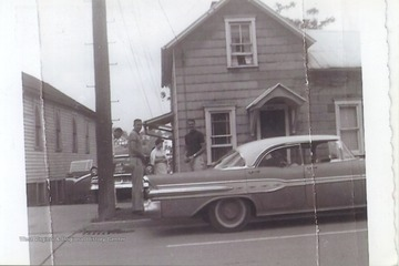 West (right) lived in the home of Ann Dinardi (center) which was located on 65 Beechurst Avenue.